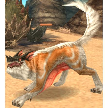 Summoned Creature: Wolf